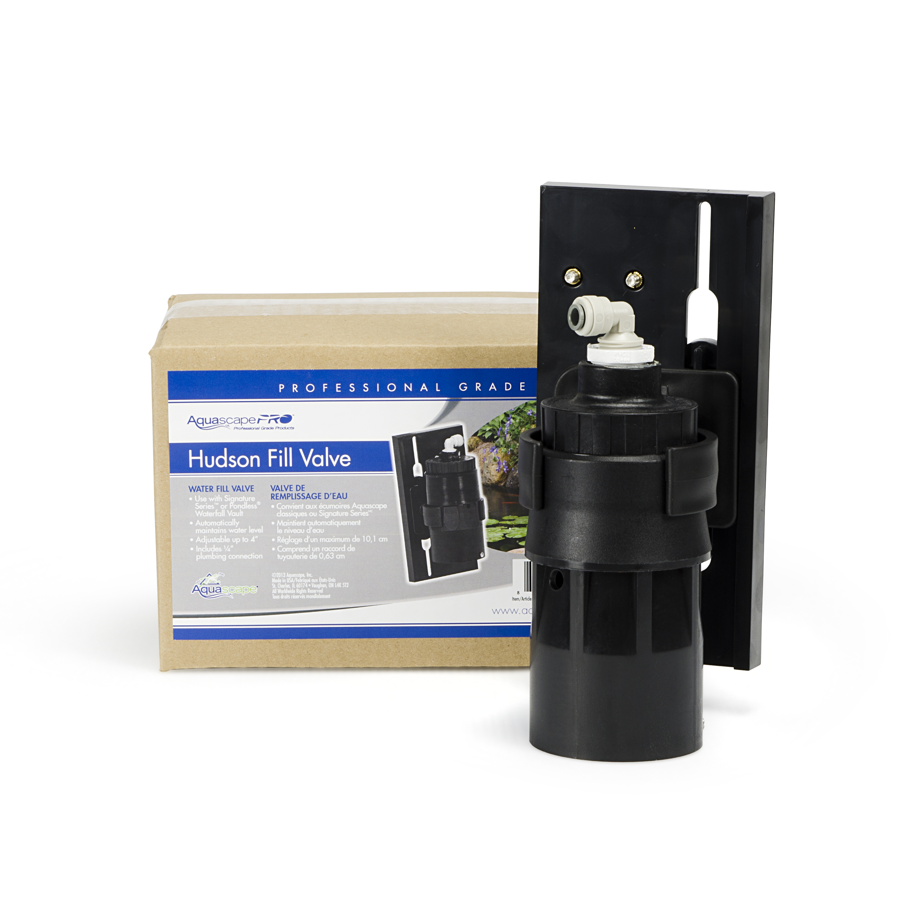 Aquascape Compact Water Fill Valve For Pond Water Level Consistency