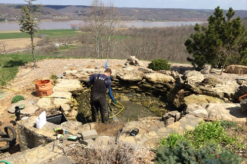 Services aquascapes for Garden maintenance jobs