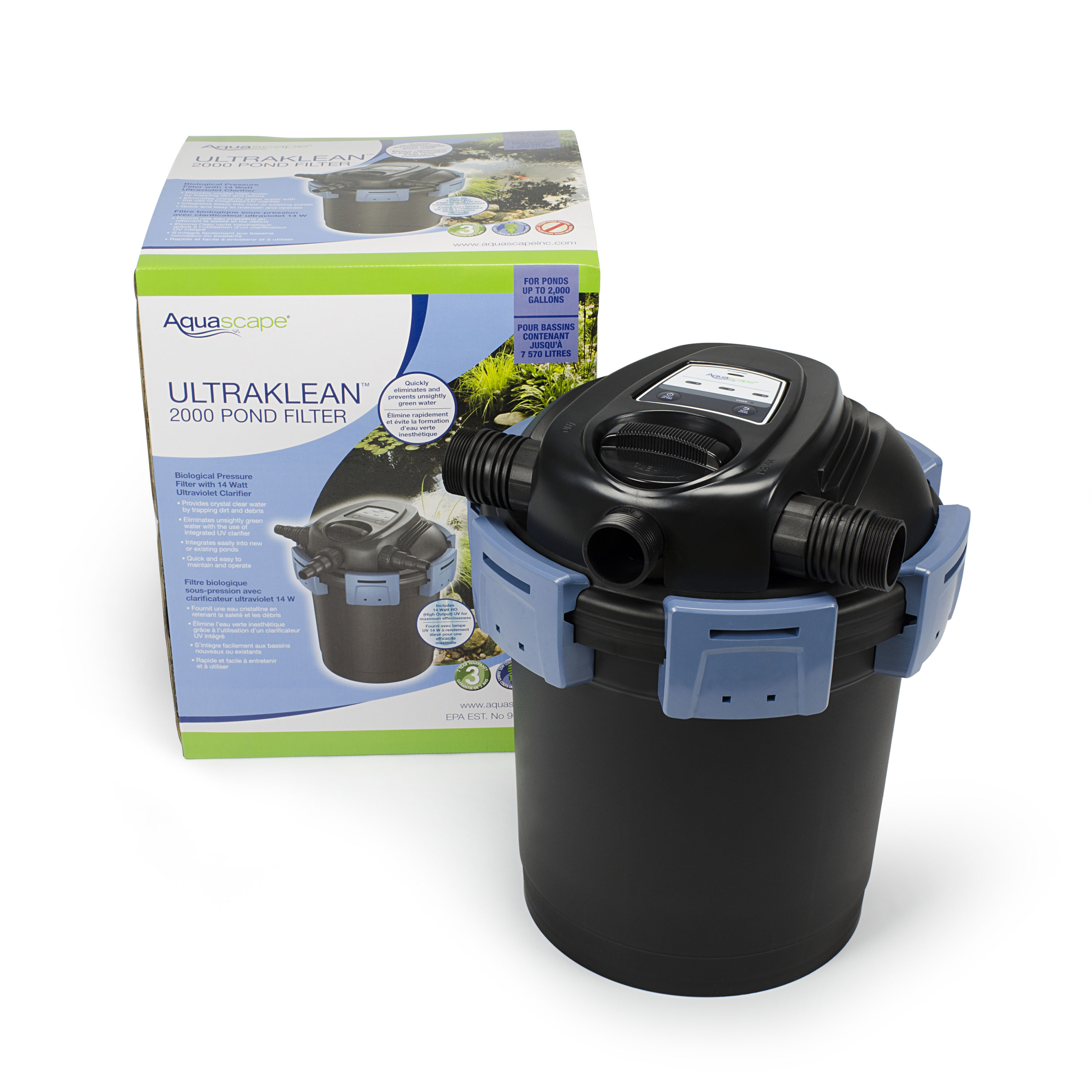 Aquascape UltraKlean™ Pond Filters – Aquascapes