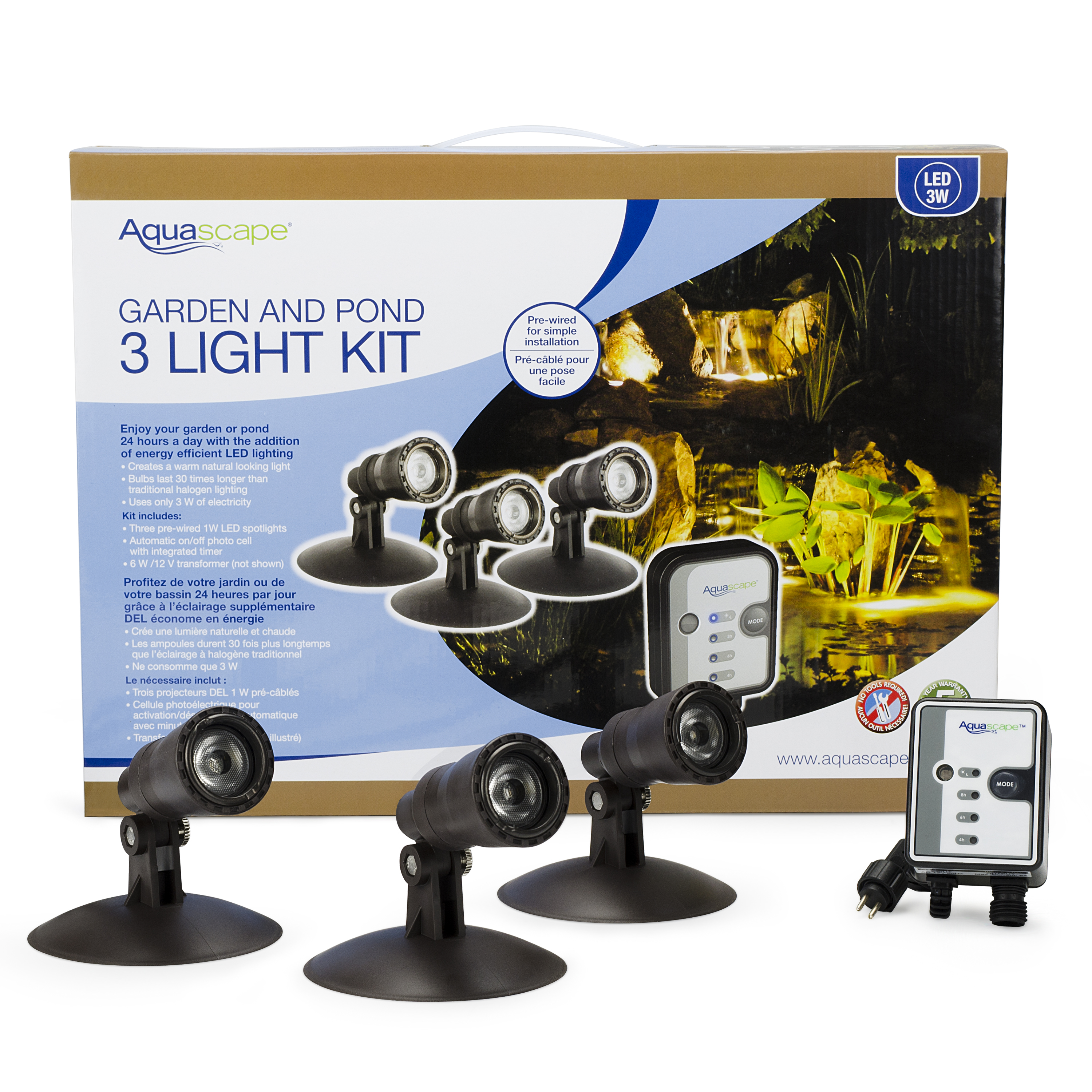 Aquascape Garden and Pond LED Lighting 6-Packs – Aquascapes