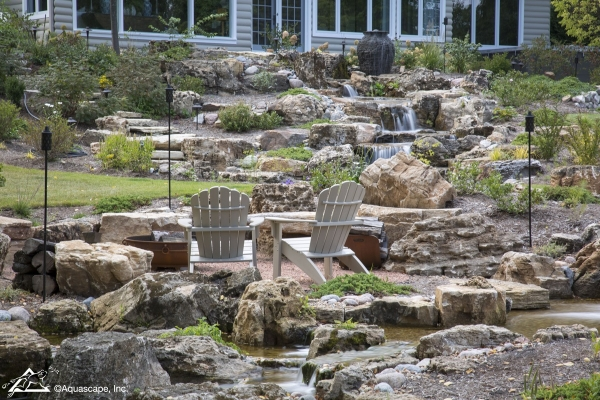 backyard waterfall ideas aquascapes