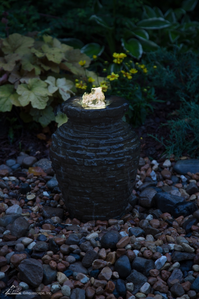 Mini Stacked Slate Urn Fountain_03