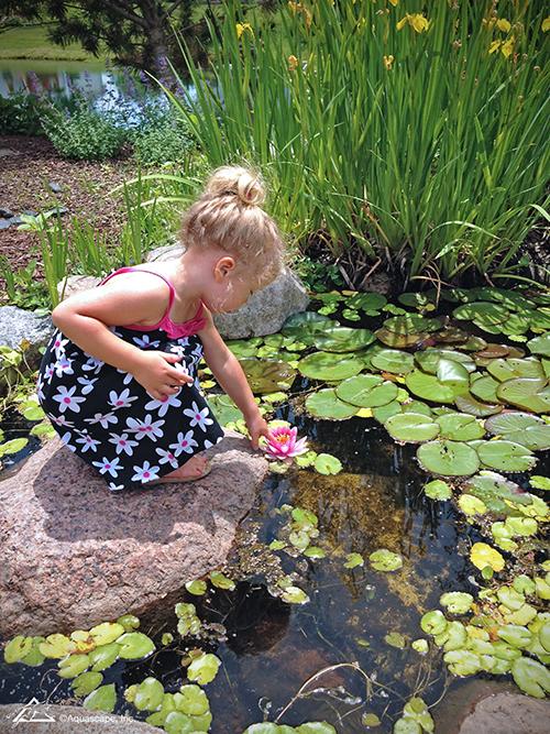 water garden children