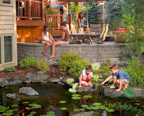 water feature installation residential