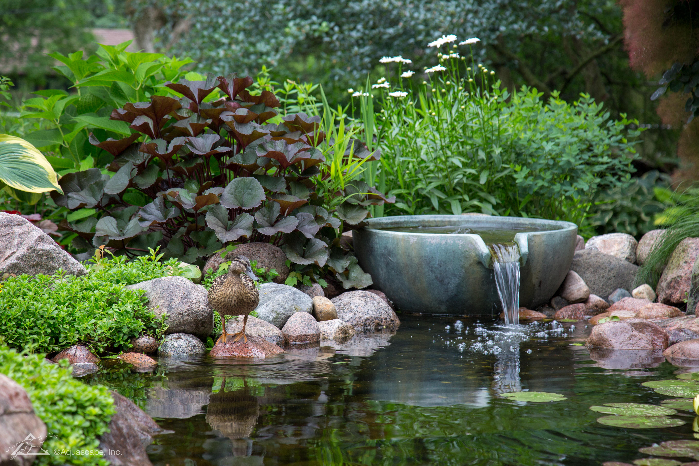 """Aquascape Spillway Bowl 32"""" Water Feature - Aquascapes"""