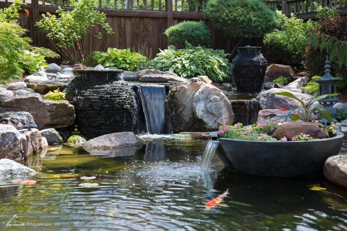 water garden pond pump