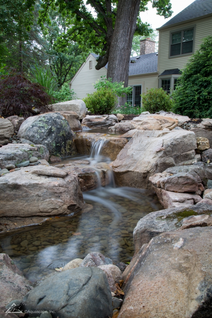 pondless waterfall kit