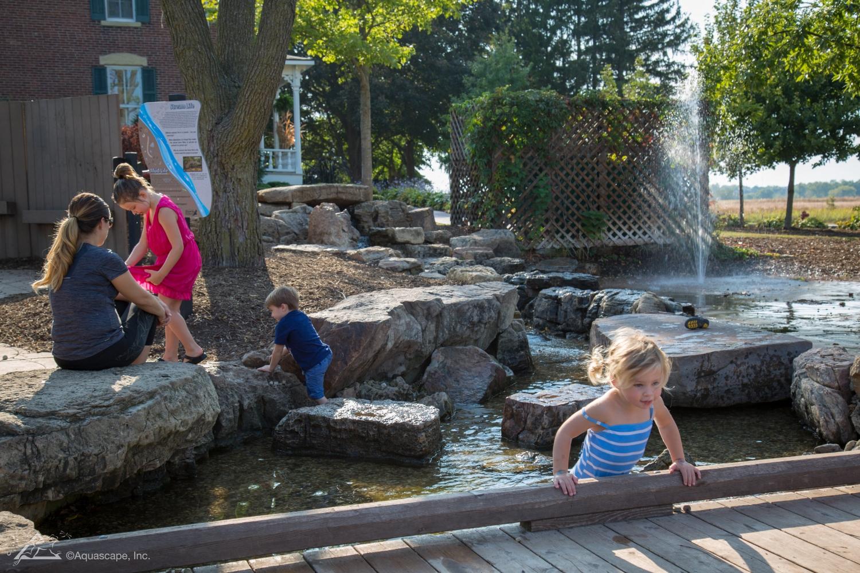 pond pumps people water