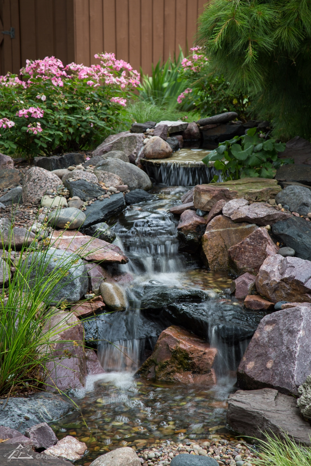 pondless waterfall design