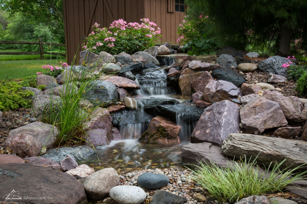 what is a pondless waterfall