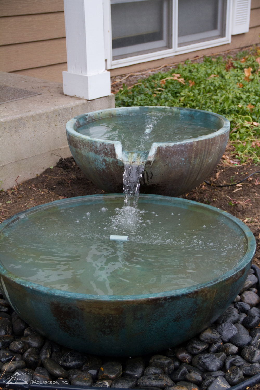 Spillway Bowls Patio Water Features