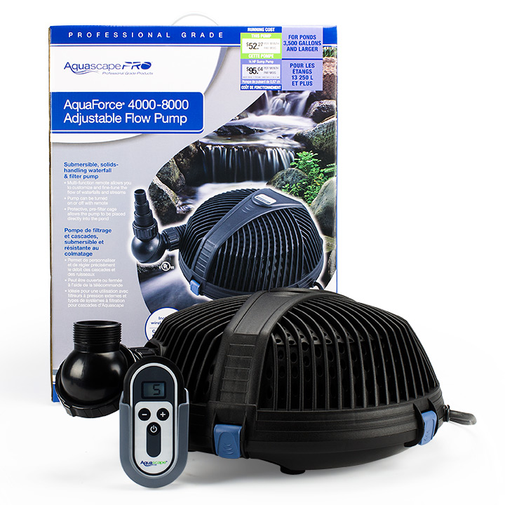 Aquascape Pond Pumps Low Gph Pumps High Gph Pumps More
